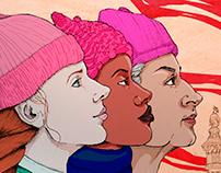 Women's March Illustration
