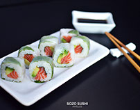 Sozo Sushis. PHOTOGRAPHIES PRODUITS