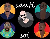 Sauti Sol Avatars