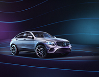 Mercedes Benz GLC Coupé - Full CGI