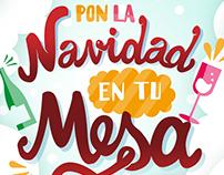 Viral campaign 'Pon la Navidad en tu mesa'