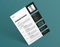 Resume/CV - 'Parker'