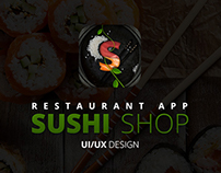 Sushi Shop – Restaurant App design