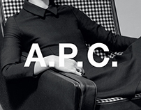 A.P.C. Website Redesign