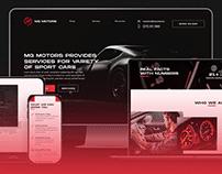 MG Motors | Logo and Webdesign