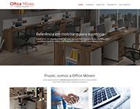 Site da Office Móveis