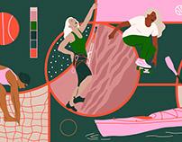 Vans x Huck Magazine - Women in Sports