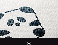 Logo Panda Animal