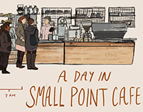 A Day in Small Point Cafe