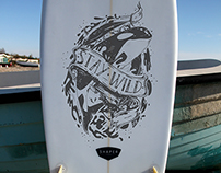 Surfboard  Custom Design