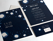 Kate & Andy's Wedding Invitations