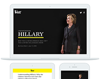Vox.com Hillary Clinton Interview: A Story as a Product