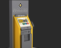 Saudi Investment Bank Self Service Machine