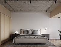 Bedroom 2  Sunshine Apartmentby K-Render Studio