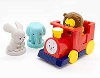 Animal Train for Kids