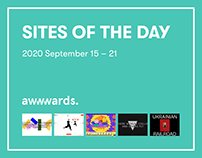 Site of the Day AWWWARDS 2020 September 15 – 21