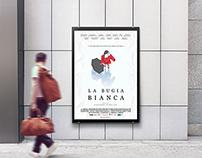 "Film Poster of ""La Bugia Bianca"""