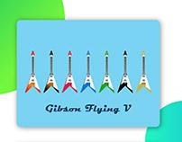 Gibson Flying V Illustration