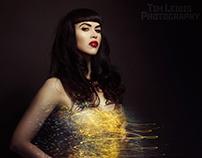 Marie LightPainting SparkleDress