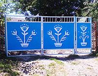 The gates / Ворота