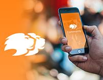 Lyconnet - Community Chat Mobile App UI/UX