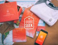 Seek | Branding, App Design, Web Design