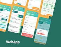 Design interface plateforme web, UI design webapp