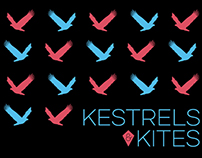 Kestrels & Kites - Band T-shirt Design