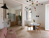 Apartment in Rome.