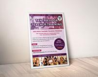 Tantra Yoga Teacher Training Poster