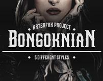 Bongoknian Font Family