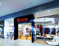 BRUMS, Italian brand shop