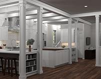 Proposal Renderings - Kitchens