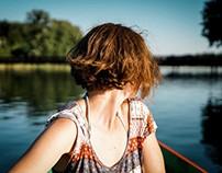 Trakai-On a boat