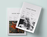 GOOD MOOD - Magazine Layout Re-Design