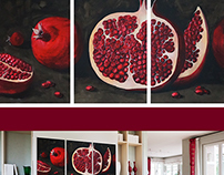 Freehand painting as interior decoration