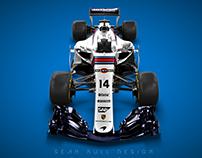 Martini McLaren Porsche Livery Concept