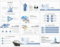 Best Infographics Presentation Report PowerPoint templa