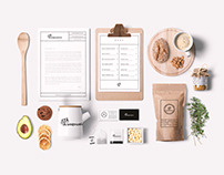 Wagowelove: branding for organic bulk shop