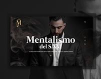 Mentalist Landing Page
