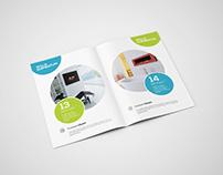 2xA4 Bifold Brochure Mockup