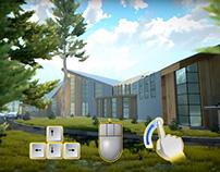Medical center UNITY 3D Archviz VR project For Gear VR