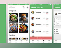 Food Mart App (Week 3 UI/UX Exercise)