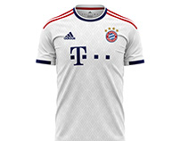 Concept Bayern Away Jersey2020-2021