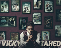 """Cover For """"Vicky Zahed"""""""