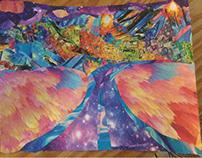 Mountain-Scape Collage