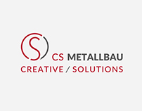 CS Metallbau – Logo / Branding / Website