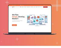 Website Banner (Concept Vadion )