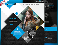 Freebie : Multipurpose Portfolio Website Template