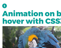 Block animation with CSS3